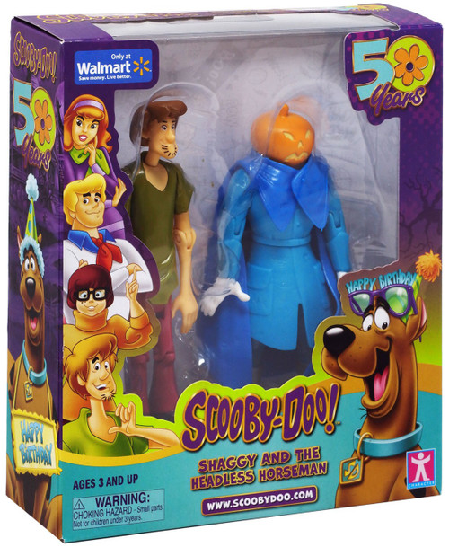Scooby Doo 50 Years Shaggy & The Headless Horseman Exclusive Action Figure 2-Pack