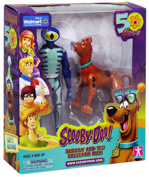 Scooby Doo Scooby & The Skeleton Man Exclusive Action Figure 2-Pack