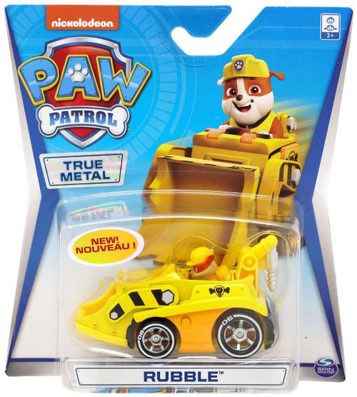 Paw Patrol True Metal Rubble Diecast Car
