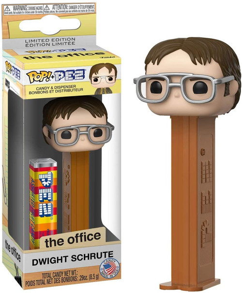 Funko The Office POP! PEZ Dwight Schrute Candy Dispenser