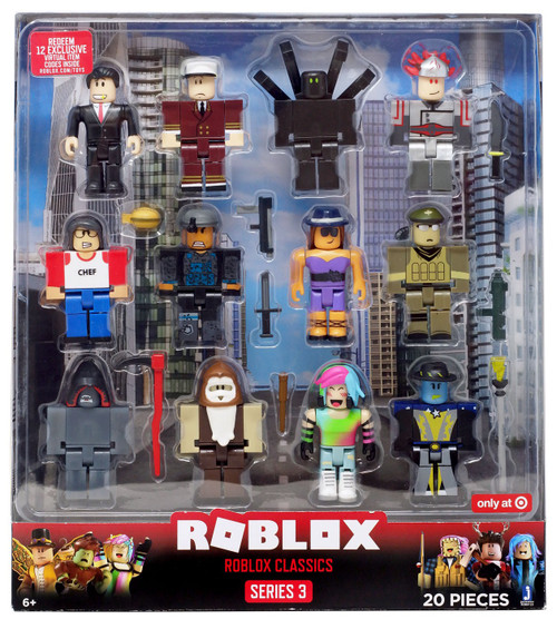 Series 3 Roblox Classics Exclusive Action Figure 12-Pack