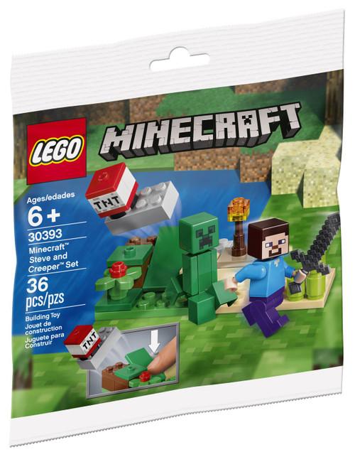 LEGO Minecraft Steve & Creeper Set