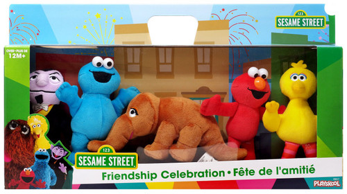 Sesame Street Friendship Celebration 6-Inch Plush 5-Pack