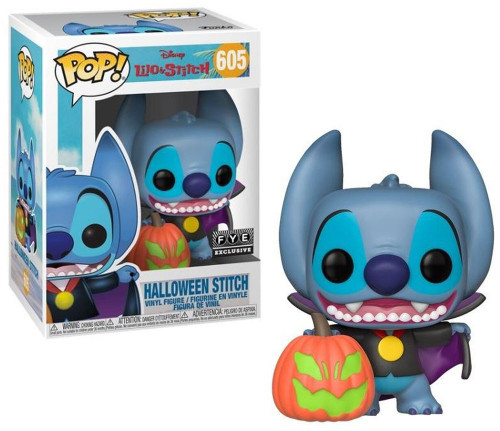 Funko Lilo & Stitch POP! Disney Halloween Stitch Exclusive Vinyl Figure #605