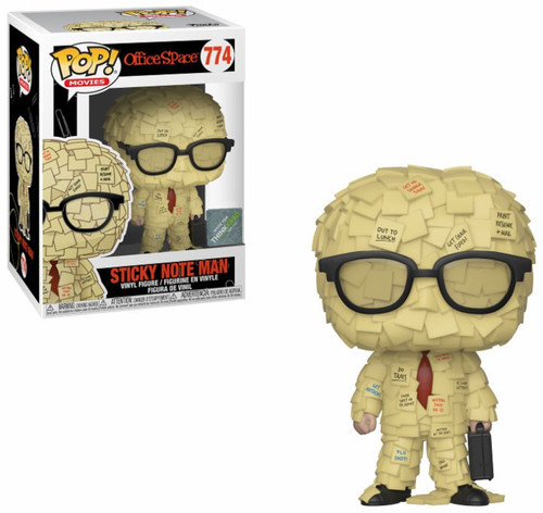 Funko Office Space POP! Movies Sticky Note Man Exclusive Vinyl Figure #774