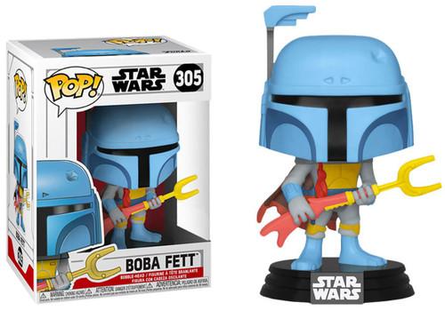 Funko POP! Star Wars Boba Fett Exclusive Vinyl Bobble Head #305 [Animated]