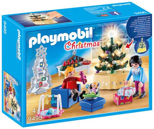 Playmobil Christmas Living Room Set #9495
