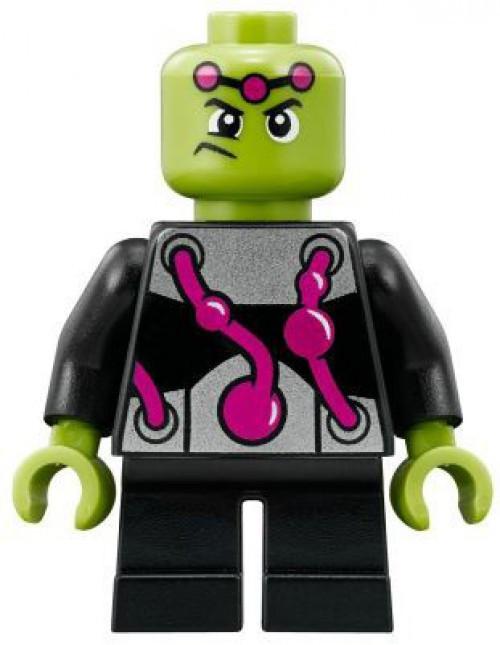 LEGO DC Universe Super Heroes Brainiac Minifigure [Mighty Micros Loose]