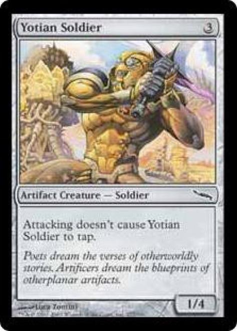 MtG Mirrodin Common Yotian Soldier #277
