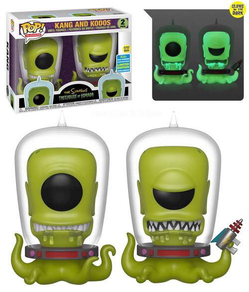 Funko The Simpsons Treehouse of Horror POP! Animation Kang & Kodos Exclusive Vinyl Figure
