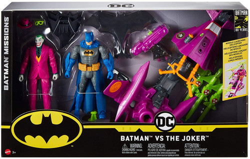 DC Batman Missions Batman & The Joker Action Figure 2-Pack