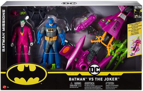 DC Batman Missions Batman & The Joker Action Figure 2-Pack