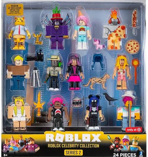 Amazon Com Roblox Gold Series 1 Celebrity Collection Serie 3 4 Roblox Celebrity Collection Series 2 Mystery Pack Blue Jazwares Toywiz