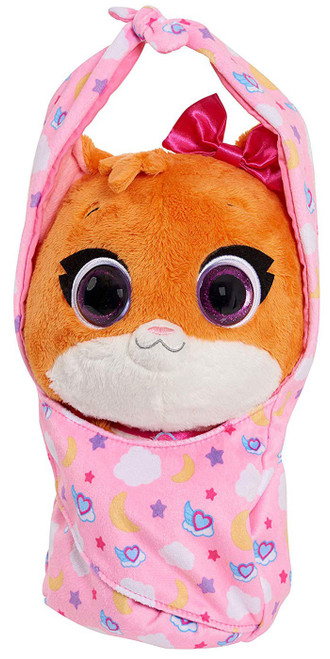 Disney Junior TOTS (Tiny Ones Transport Service) Cuddle & Wrap Mia The Kitten 9-Inch Plush