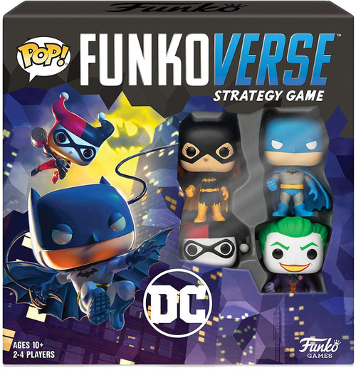 DC POP! Funkoverse 100 Strategy Board Game Base Set