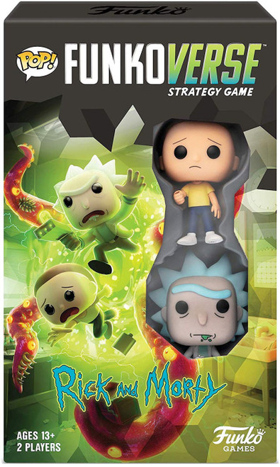 Rick & Morty POP! Funkoverse 100 Strategy Board Game Expandalone
