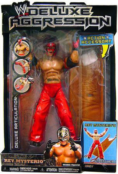 WWE Wrestling Deluxe Aggression Series 7 Rey Mysterio Action Figure