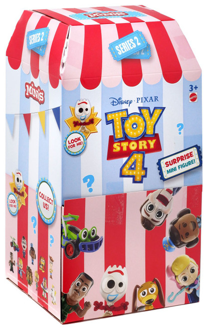 Disney / Pixar Toy Story 4 MINIS Series 2 Mystery Box [36 Packs]