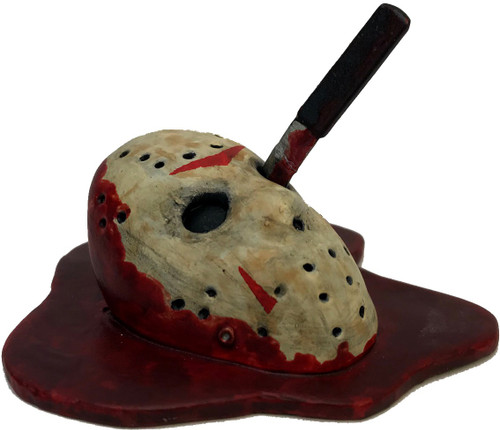 Kuzos Horror Friday the 13th Jason's Mask 2-Inch Mini Replica