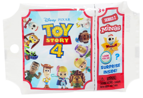Disney / Pixar Toy Story 4 MINIS Series 2 Mystery Pack [1 RANDOM Figure]