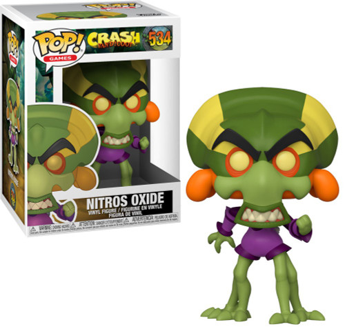 Funko Crash Bandicoot POP! Games Nitros Oxide Vinyl Figure