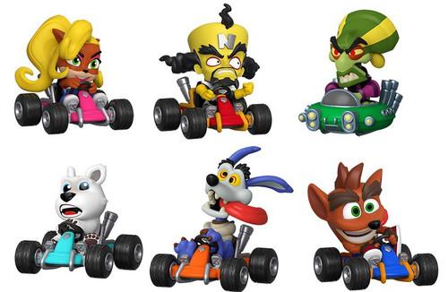 Funko Crash Bandicoot Mystery Minis Crash Team Racing Nitro-Fueled Mystery Pack [1 RANDOM Figure]