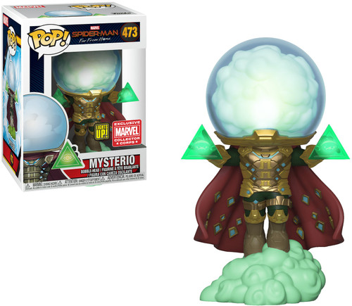 Funko Spider-Man Far From Home POP! Marvel Mysterio Exclusive Vinyl Figure #473 [Lights Up!]