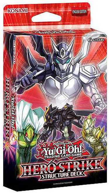 YuGiOh Trading Card Game HERO Strike Structure Deck