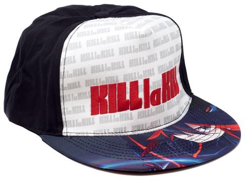 Kill La Kill Logo Pattern Snapback Cap