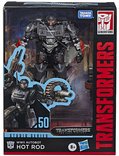 Transformers Generations Studio Series WWII Autobot Hot Rod Deluxe Action Figure #50