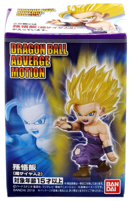 Dragon Ball Super Adverge Motion Wave 1 Super Saiyan 2 Son Gohan Mini Figure
