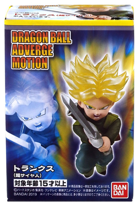 Dragon Ball Super Adverge Motion Wave 1 Future Super Saiyan Trunks Mini Figure