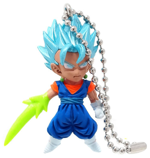 Dragon Ball Super UDM The Best Mix 02 Super Saiyan God Super Saiyan Vegito 1.5-Inch Keychain Clip-On