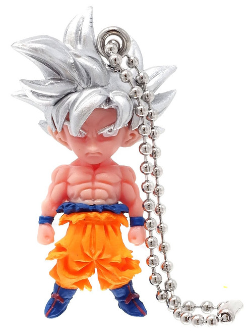 Dragon Ball Super UDM The Best Mix 02 Ultra Instinct Goku 1.5-Inch Keychain Clip-On
