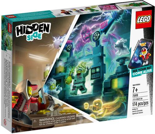 LEGO Hidden Side J.B.'s Ghost Lab Set #70418