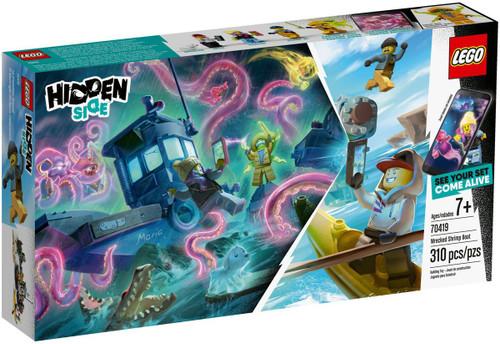 LEGO Hidden Side Wrecked Shrimp Boat Set