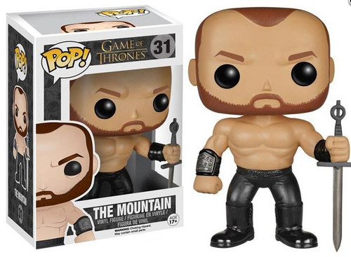 Funko Game of Thrones POP! TV The Mountain Vinyl Figure #31 [Damaged Package]