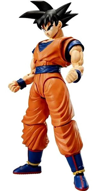 Dragon Ball Z Figure Rise Goku 6-Inch Model Kit [New Package Design]