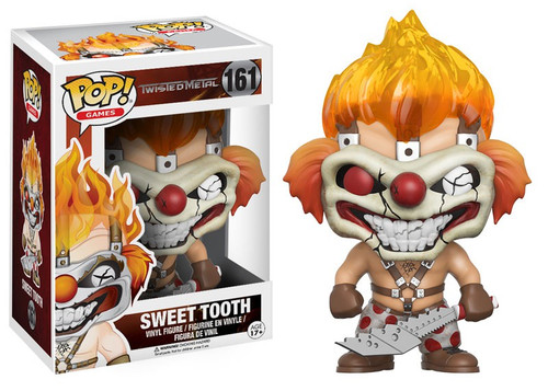Funko Twisted Metal POP! Games Sweet Tooth Vinyl Figure #161 [Damaged Package]