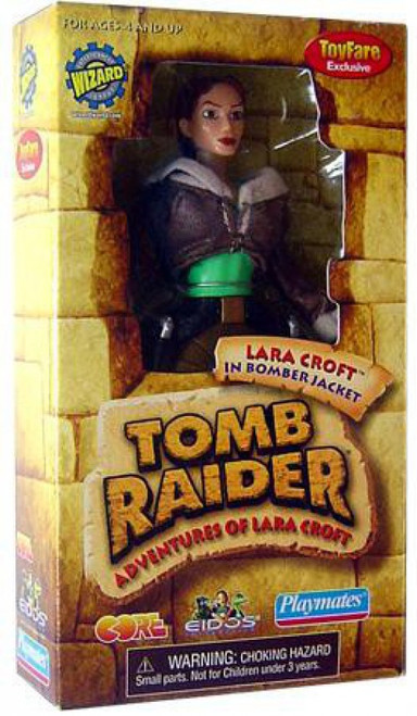 Tomb Raider Adventures of Lara Croft Lara Croft Exclusive Action Figure [Bomber Jacket]