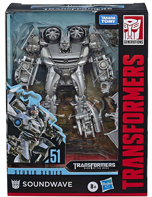 Transformers Generations Studio Series Soundwave Deluxe Action Figure #51 [Dark of the Moon]
