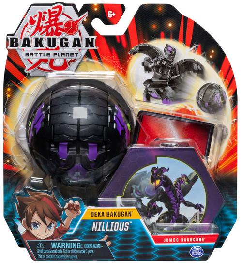 Bakugan Battle Planet Deka Nillious Figure [Jumbo Bakucore]