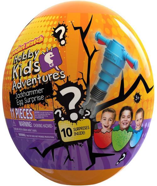 HobbyKids Adventures Jackhammer Exclusive Mystery Egg Surprise