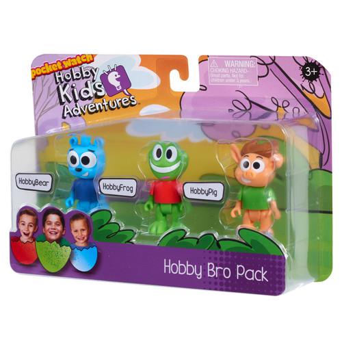 HobbyKids Adventures Hobby Bro Pack Mini Figure 3-Pack