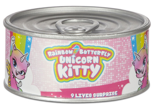 Nickelodeon Rainbow Butterfly Unicorn Kitty 9 Lives Surprise Mystery Pack