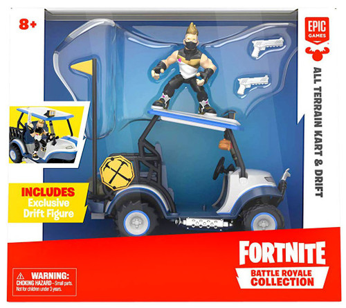 Fortnite Epic Games Battle Royale Collection All Terrain Kart & Drift 2-Inch Vehicle & Mini Figure