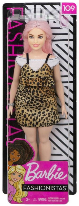 Fashionistas Barbie 13.25-Inch Doll #109 [Varsity Plaiditude]