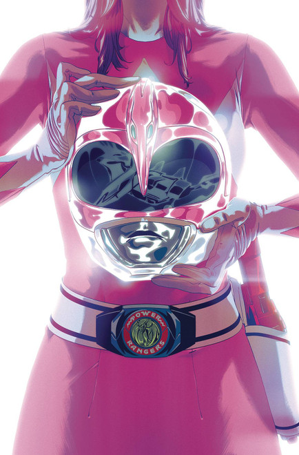 Boom Studios Mighty Morphin Power Rangers #42 Necessary Evil Comic Book [Goni Montes Foil Variant Cover]
