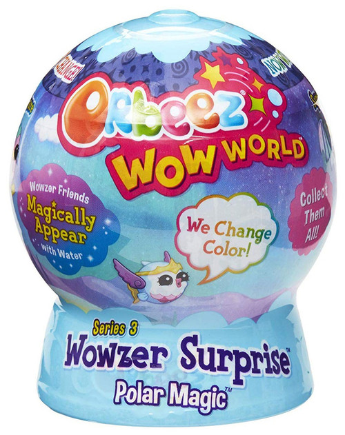 Orbeez Wow World Series 3 Wowzer Surprise Polar Magic Mystery Pack