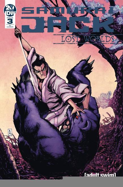 IDW Samurai Jack Lost Worlds #3 Comic Book [Kei Zama Variant Cover]